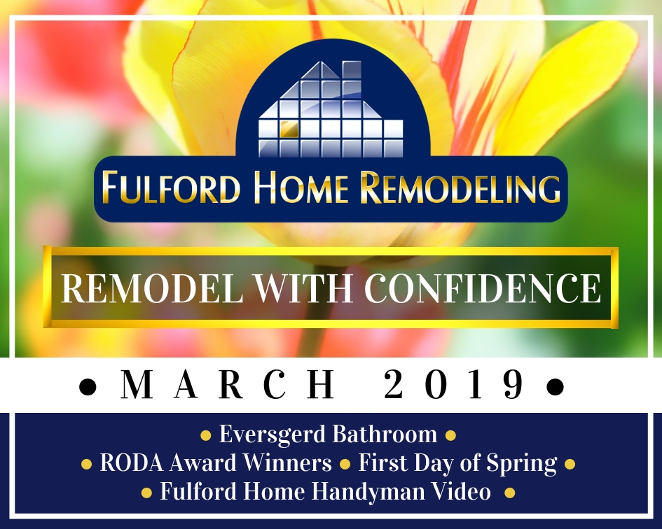 Sign Up for Fulford Home Remodeling's Newsletter to Stay Up-To-Date on Fulford Home Remodeling News