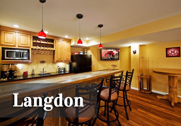 Langdon Basement   ♦   O'Fallon, Illinois