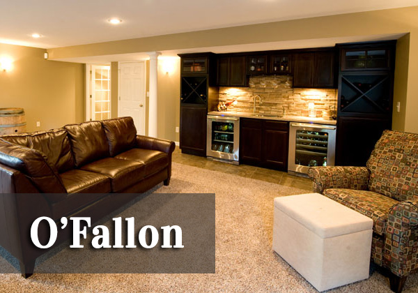 O'Fallon Basement   ♦   O'Fallon, Illinois