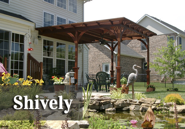 Shively Pergola   ♦   O'Fallon, Illinois